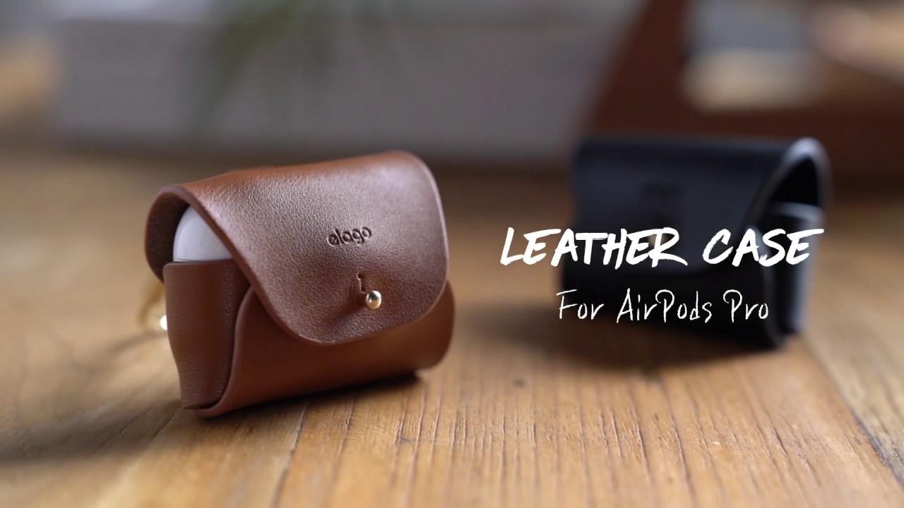 Elago Airpods Pro Leather Case Youtube