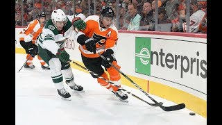 Philadelphia Flyers vs Minnesota Wild, 11 november 2017