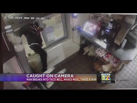 Tim Moore - Man Breaks Into Taco Bell, Cooks Meal And Then Takes A Nap