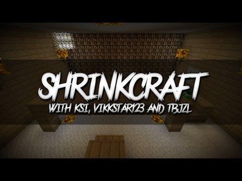 Minecraft | ShrinkCraft | E002 (with KSI, Vikkstar123 & TBJZL)