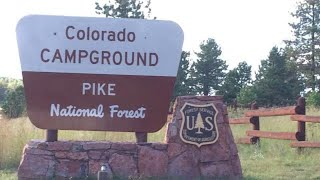 Colorado Campground Revisited - Comṗlete Tour - Pike National Forest