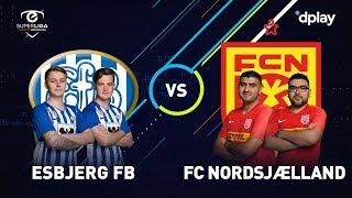 eSuperliga Highlights: Esbjerg fB 1 - FC Nordsjælland 3