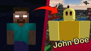 ME HACKEA JOHN DOE... ROBLOX HEROBRINE 😰 c/ Manucraft and ElTrollino