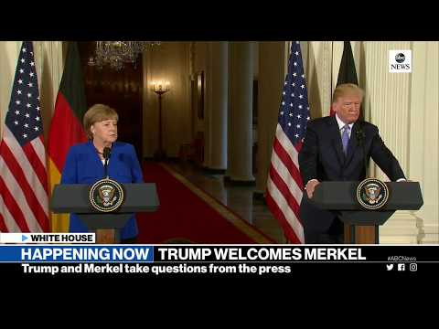 President Donald Trump, German Chancellor Merkel holds joint press conference | ABC News