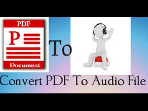how-to-convert-pdf-book-to-audio-book-simple-trick