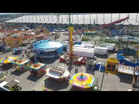 The Skyride - Tulsa State Fair 2017