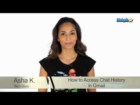 How To Access Chat History In Gmail