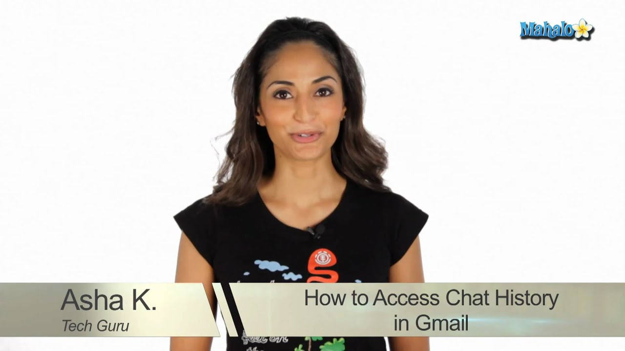 how to delete chat history in gmail
