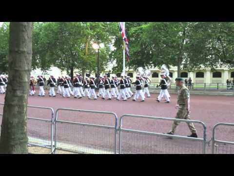 Massed Bands H.M. Royal Marines, The Mall 2014