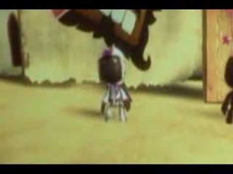 LittleBigPlanet music video - It's Only a Paper Moon