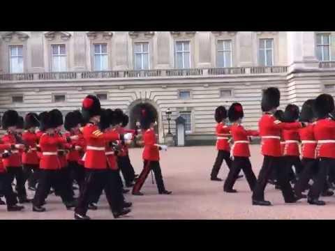 Cambio de guardia en Buckingham Palace / Buckingham Palace change of guard 2016