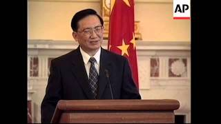 USA: CHINESE FOREIGN MINISTER TANG MEETS MADELEINE ALBRIGHT