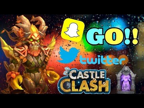 Castle Clash Double Evolving Treantaur! Follow Me On Twitter/Snapchat!