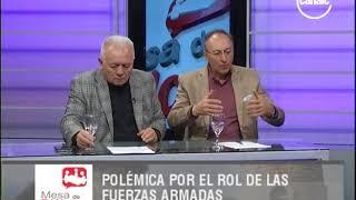Gregorio Hernández Maqueda | Polémica por el rol de las fuerzas armadas