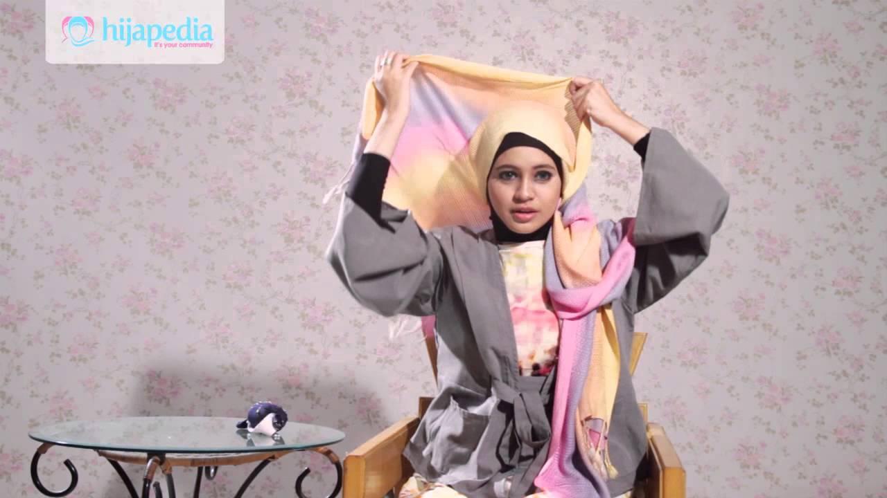 Hijab Tutorial Pashmina Rajut Dian Pelangi 2 YouTube