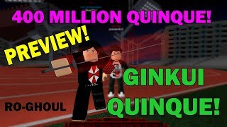 [NORO QUINQUE] GINKUI SHOWCASE / PREVIEW IN RO-GHOUL | Roblox