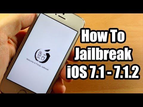 How to Jailbreak iOS 7.1 - 7.1.2 using Pangu on Mac