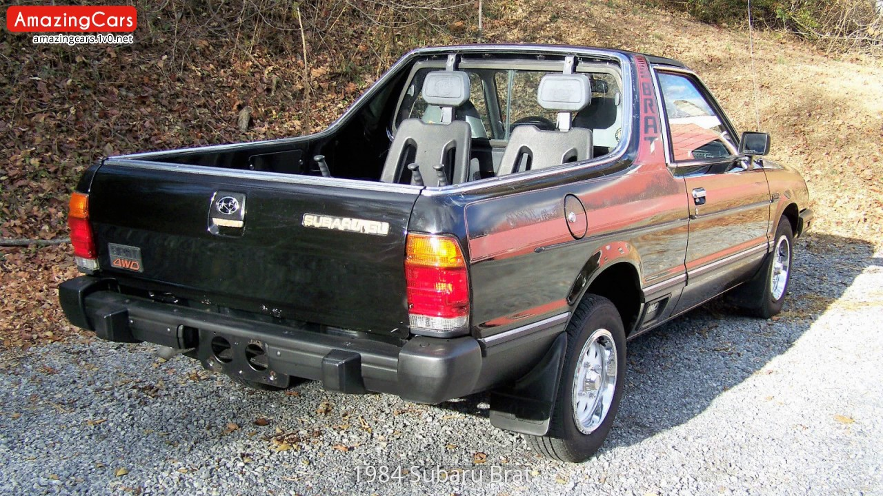 1984 Subaru Brat Youtube