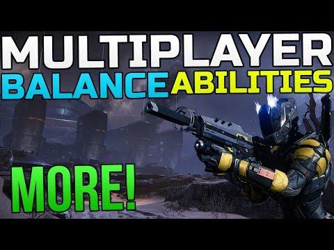Destiny News - Competitive Multiplayer, Tactics, Abilities, Balance & More!