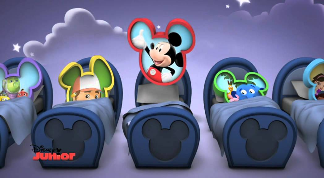 La Canzone Buonanotte Di Disney Junior Youtube