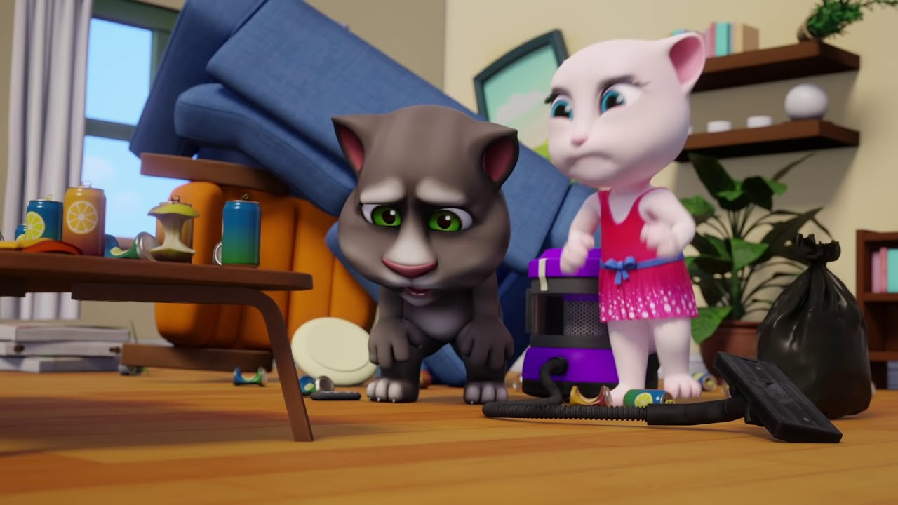Master of Trash - ????NEW CARTOON????Talking Tom Shorts (S2 Episode 1)