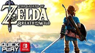 The Legend of Zelda Breath of the Wild Demo G...