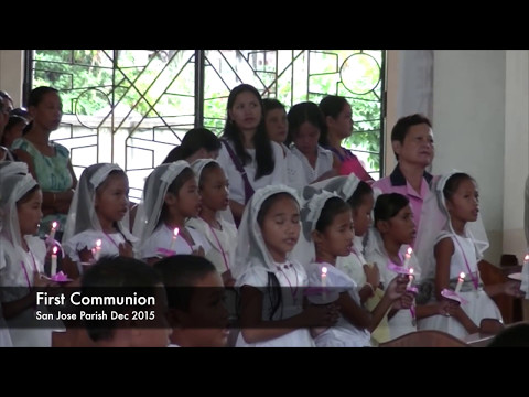 First Communion  Filipino Style