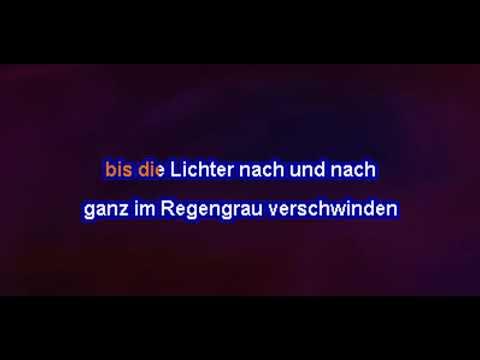 Dieter Thomas Kuhn - Über den Wolken (Karaoke)