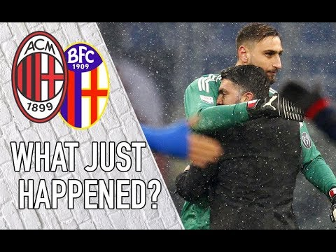 Ac milan 2-1 bologna | what just happened? live from the san siro