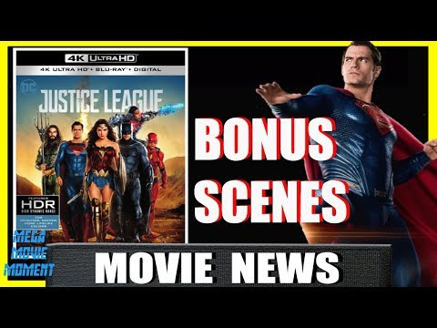 Bonus Superman Deleted Scenes Teased Justice League Blu-Ray Announcement Trailer | Mega Movie Moment