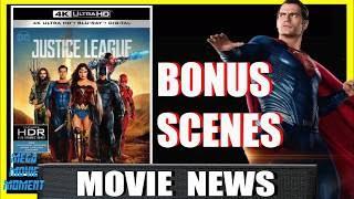 Bonus Superman Deleted Scenes Teased Justice League Blu-Ray Announcement Trailer | Mega Movie Moment