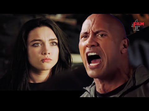 The Rock gives Florence Pugh & Jack Lowden some tips in Fighting With My Family  Film4