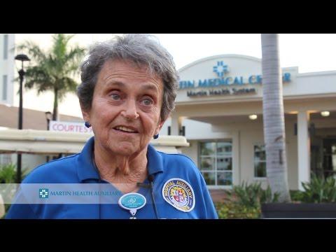 Martin Health Auxiliary volunteers
