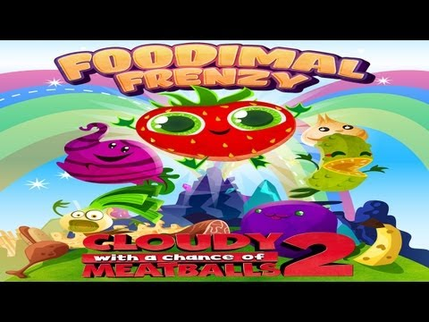 Cloudy with a Chance of Meatballs 2: Foodimal Frenzy - Universal - HD Gameplay Traier