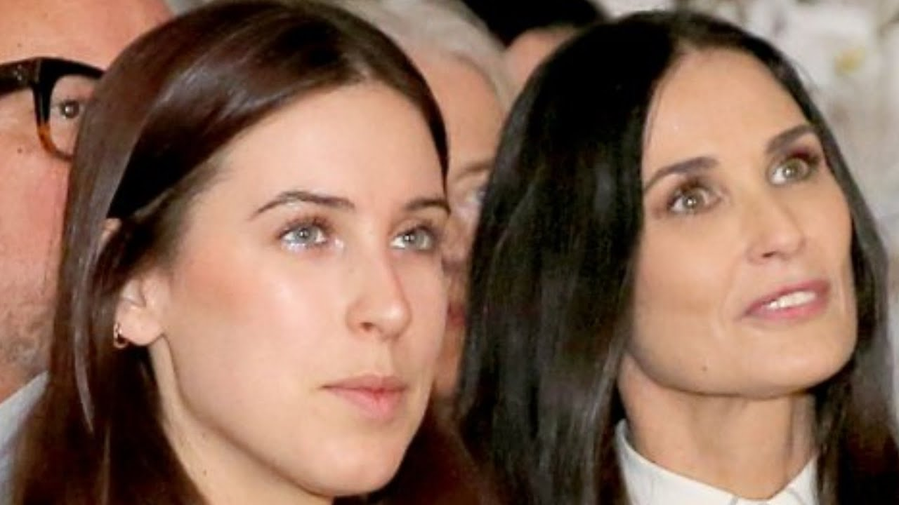Dark Secrets Demi Moore's Daughters Revealed About Their Mom