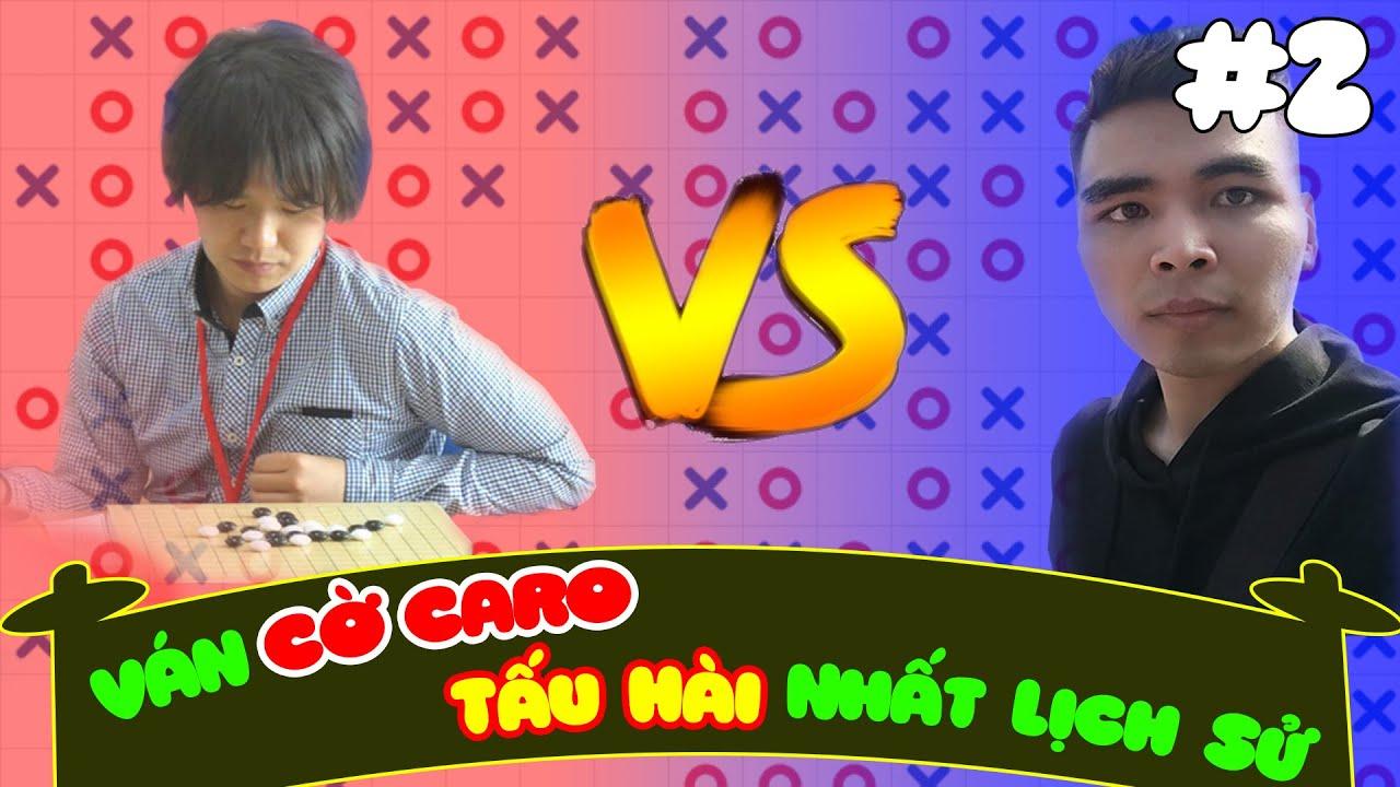 VÁN CỜ CARO TẤU HÀI NHẤT LỊCH SỬ | Đại chiến với cao thủ Nhật Bản (How to play gomoku game) #2