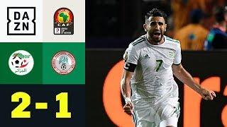 Riyad Mahrez macht sich unsterblich: Algerien - Nigeria 2:1 | Afrika Cup | DAZN Highlights