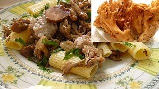 Макароны с Грибами и Колбаской Pasta e Funghi con Salsiccia
