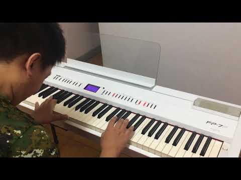 Yiruma《Kiss the rain》- 孟儒老師極簡易演奏版