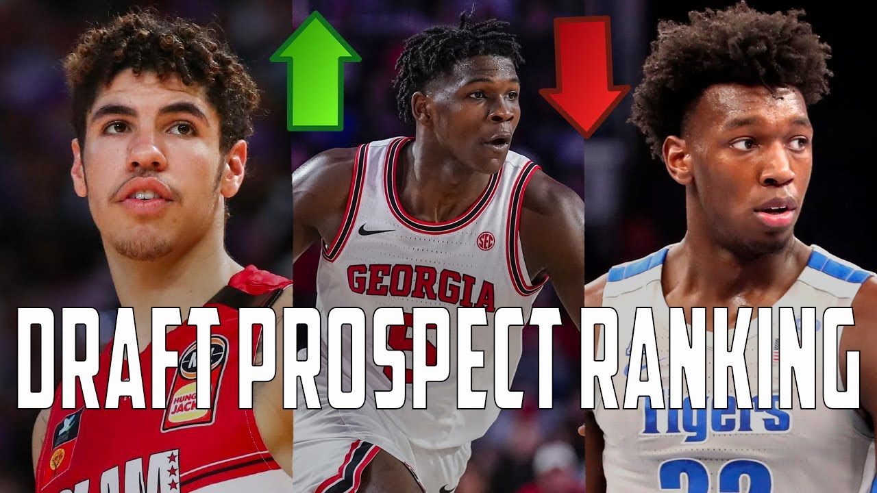 2020 NBA Draft Big Board 1.0: Who Gets The Number 1 Spot?