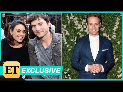 Mila Kunis and Ashton Kutcher Are Insanely Jealous of Sam Heughan's 'SixPack' Exclusive