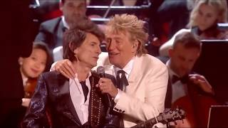 The Faces (Rod Stewart, Ronnie Wood, Kenney Jones) - Stay With Me - The Brits 2020
