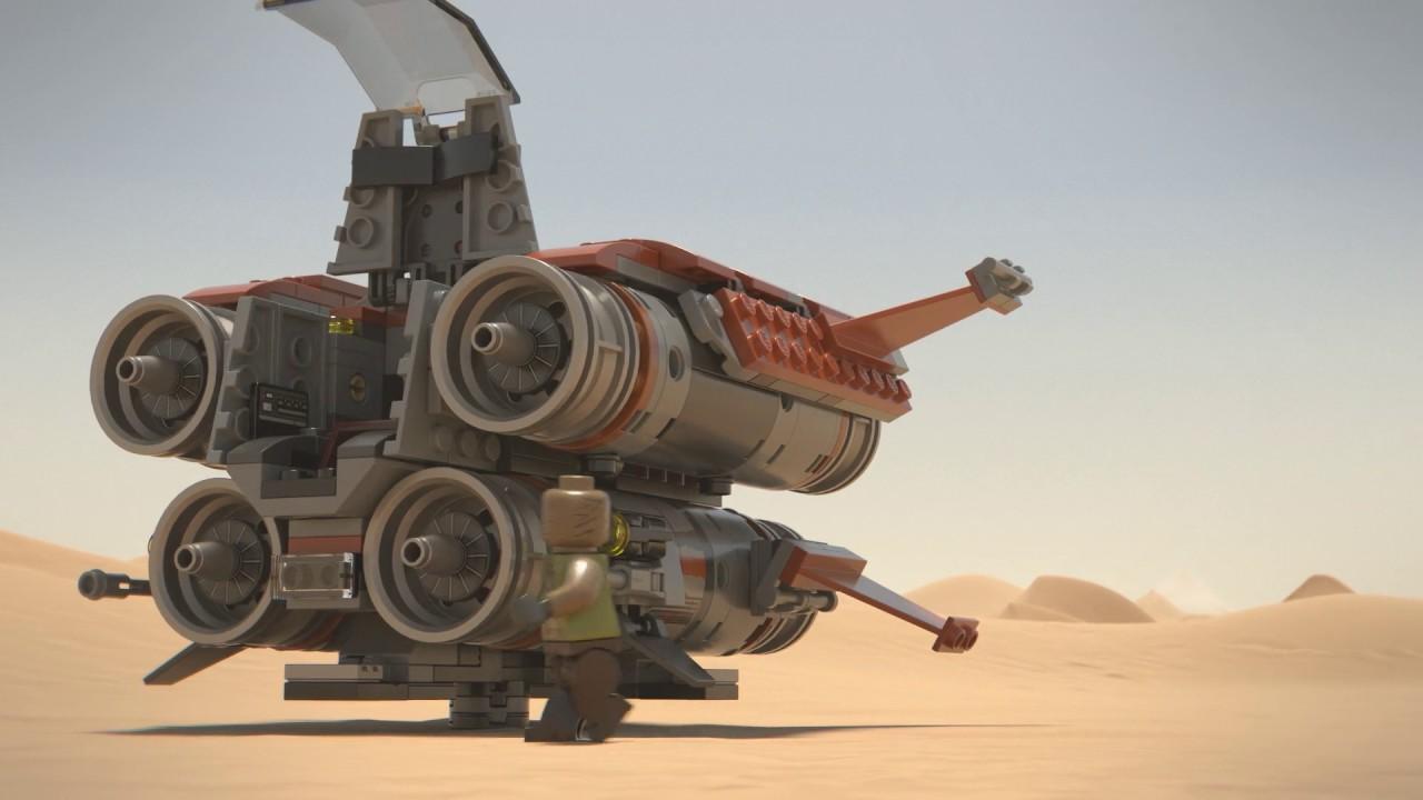 Jakku Quadjumper Lego Star Wars 75178 Product