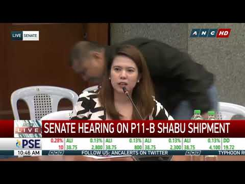 'Shabu shipment' consignee fears for safety, misses Senate probe
