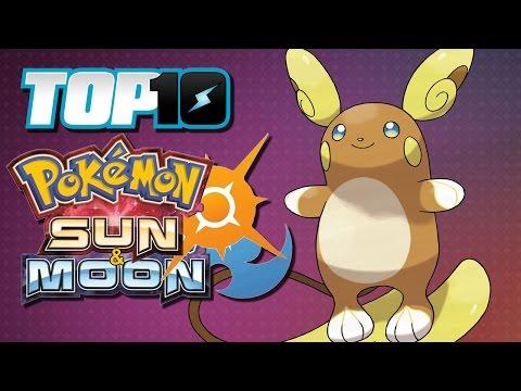 TOP 10 Sun & Moon Pokémon
