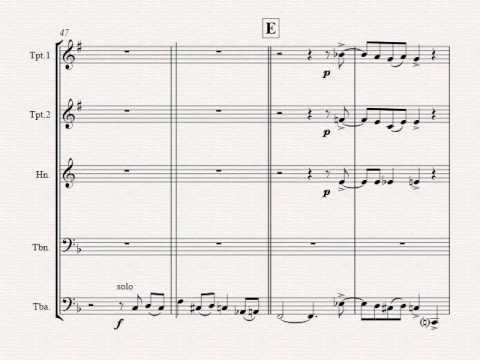 Oh Christmas tree - Oh Tannenbaum - Funky - Brass Quintet