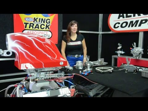 """Aerospace Components, """"Kimmy's Garage"""" featuring Vacuum Pump System! More HP"""