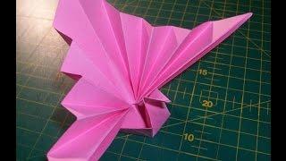 Оригами журавлик: счастливые поделки из бумаги своими руками(Оригами журавлик на счастье. Красивые поделки из бумаги своими руками. Журавлик из бумаги одна из самых..., 2014-04-11T19:56:40.000Z)