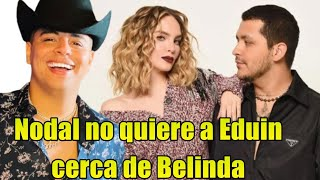 Christian Nodal ARDE EN CELOS de Eduin Caz por Belinda!