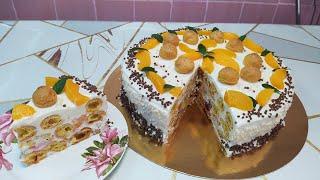 Подробный МК Печём и собираем торт Дамские пальчики